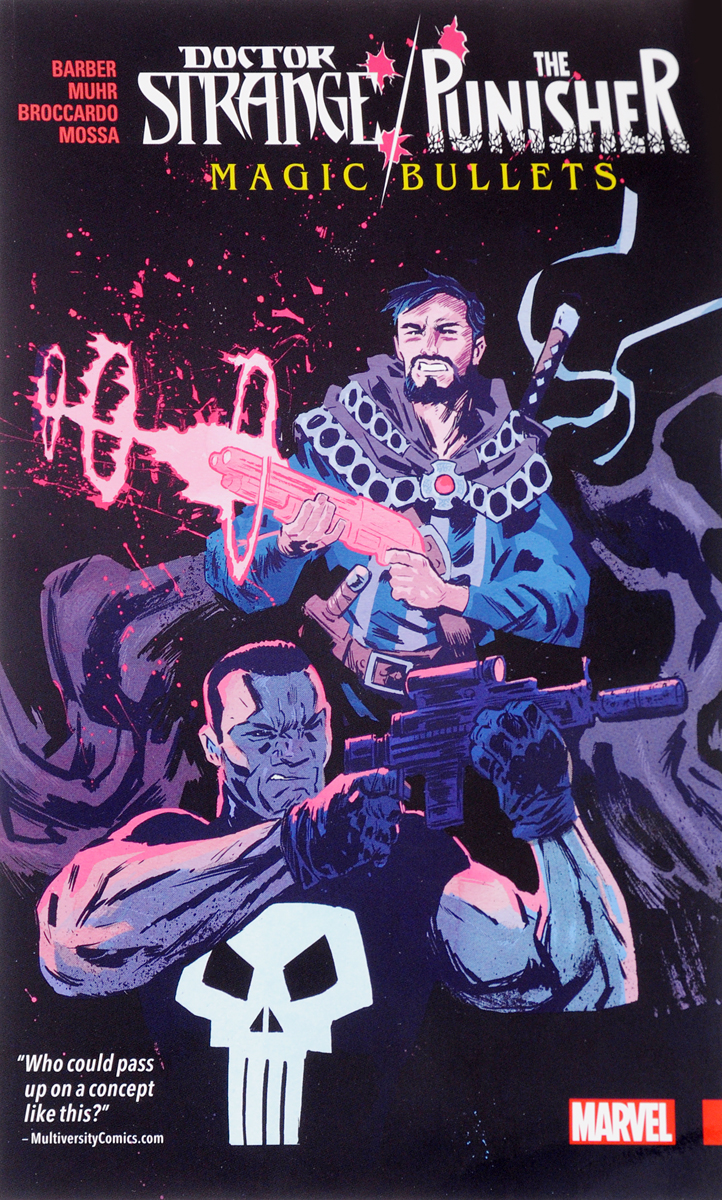 Doctor Strange / Punisher: Magic Bullets лонгслив printio punisher of the future
