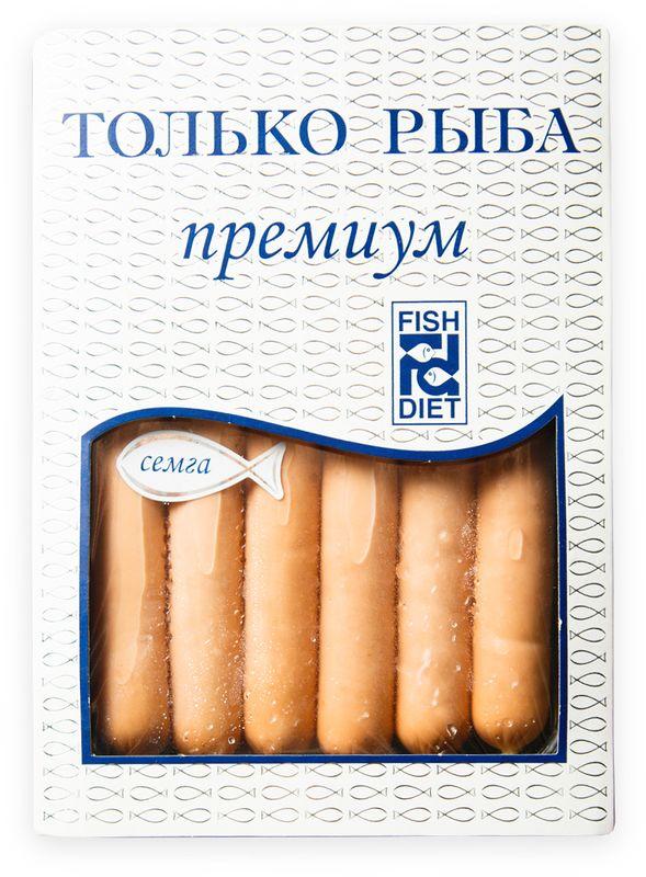 Fish Dieta Сосиски из семги, 240 г fish oil в аптеке