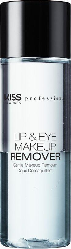 Kiss New York Professional Двухфазное средство для снятия макияжа с глаз и губ, 100 мл - Косметика по уходу за кожей