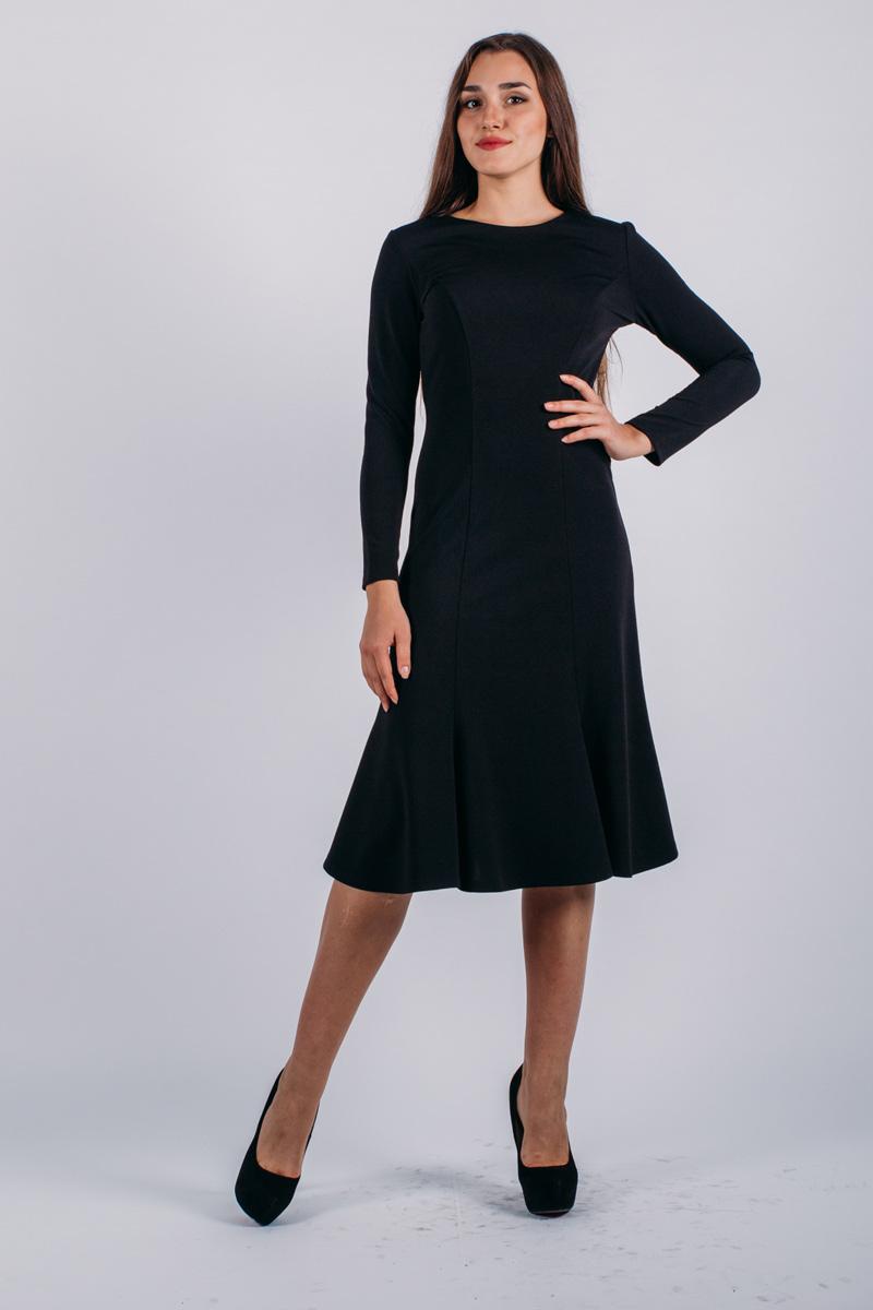 Платье Lautus, цвет: черный. 734. Размер 54734