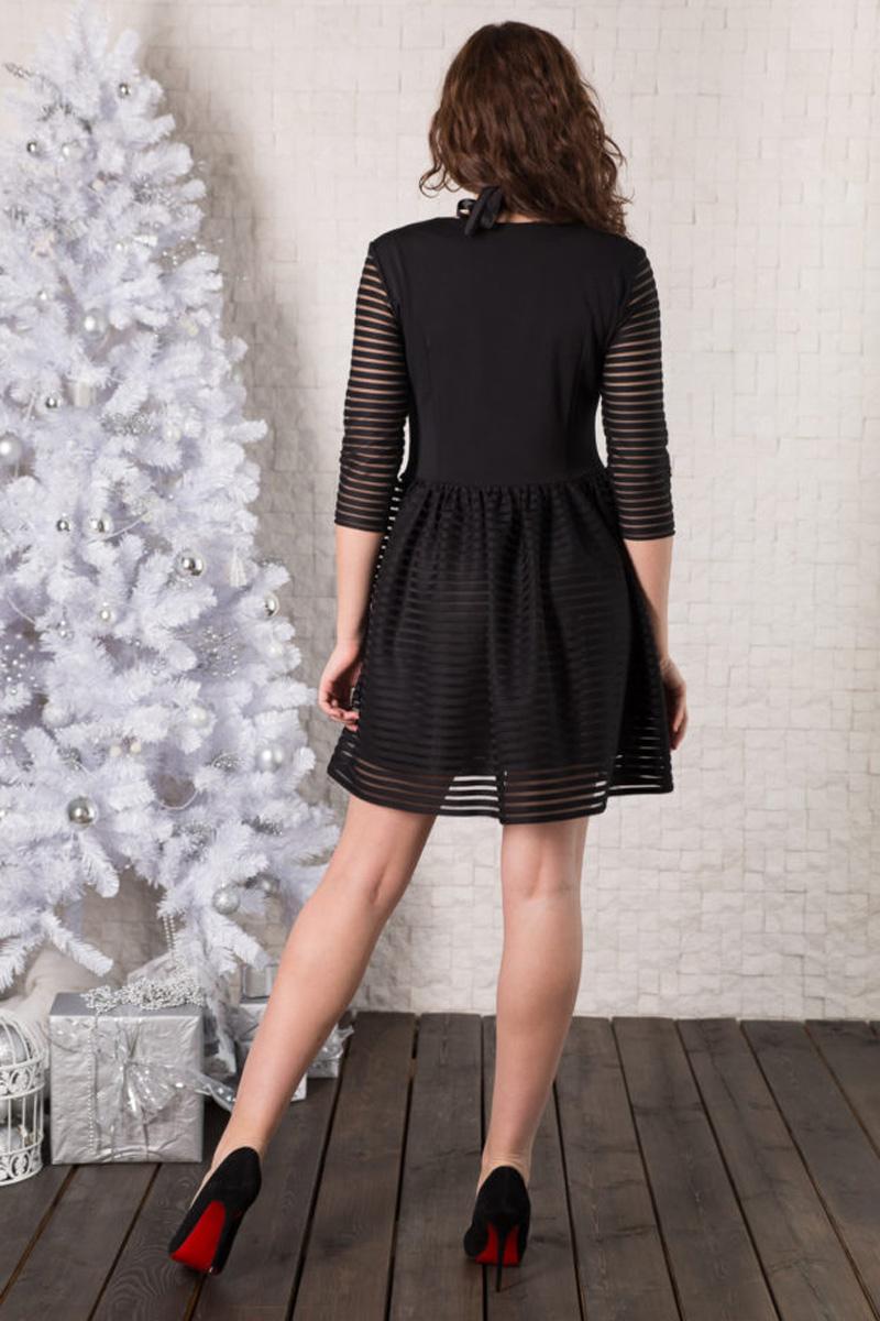 Платье Lautus, цвет: черный. 950. Размер 50950