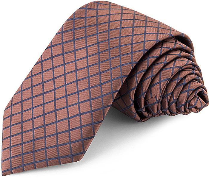 Галстук мужской Greg, цвет: коричневый. 708.7.93. Размер универсальный708.7.93галстук GREG сшит вручную из микрофибры с мелкими элементами. Особую прочность и пластичность шелкоподобной ткани обеспечивают тончайшие волокона полиэстера. галстук прекрасно дополнит сорочки с воротниками: , французским и французским развернутым (акула). галстук прослужит долго благодаря нанесению защитного слоя тефлона вокруг каждой нити. Аксессуары GREG- эффектные дополнения для торжества и на каждый день!