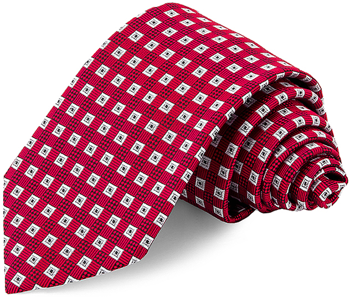 Галстук мужской Greg, цвет: красный. 702.7.31. Размер универсальный галстук для мальчика brostem цвет черный красный синий rcal 19 размер универсальный