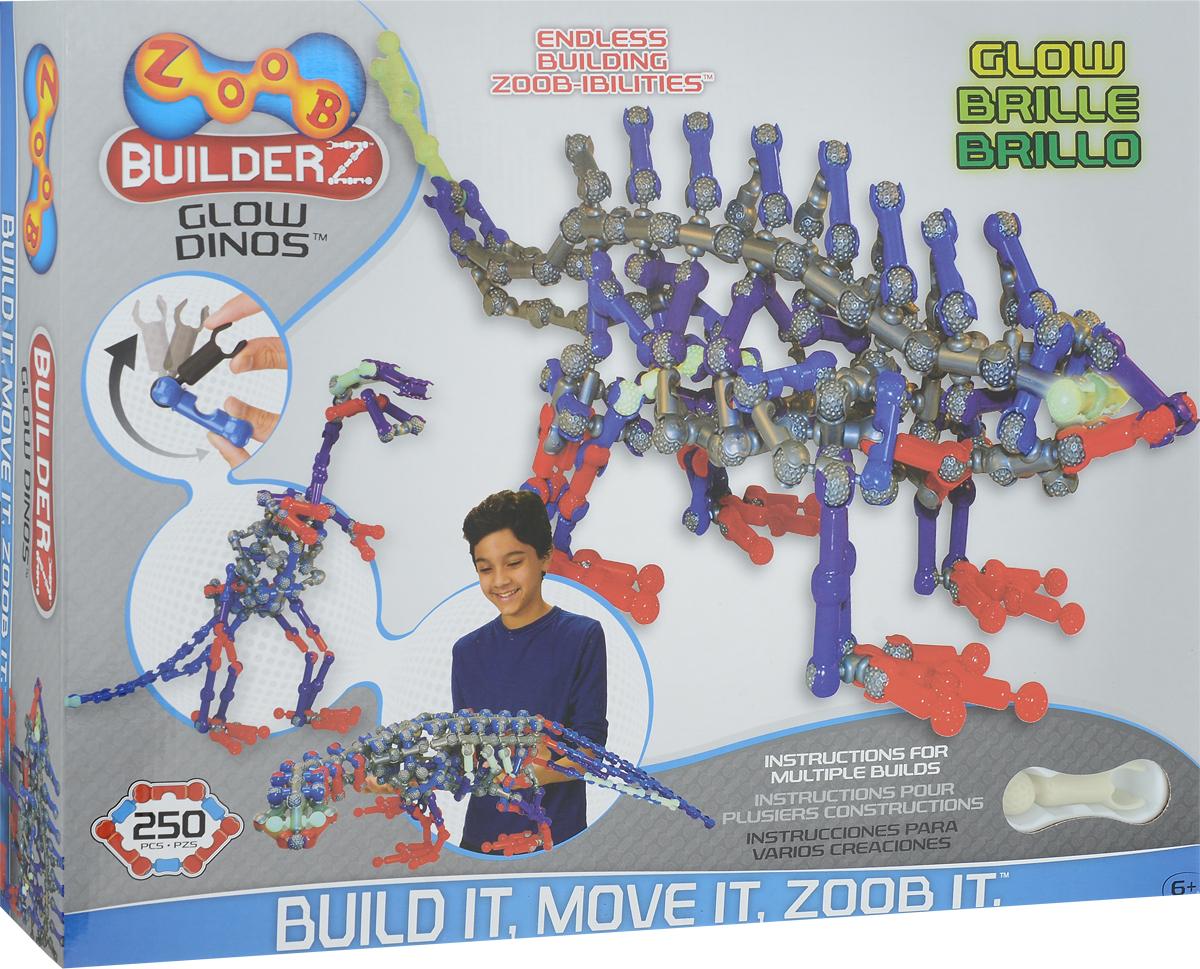 Zoob Конструктор Dinos конструкторы zoob подвижный конструктор zoob с инерционным механизмом oz12055