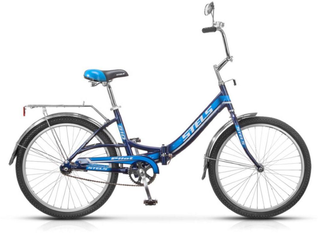 Велосипед складной Stels Pilot 810 2015, цвет: синий, колесо 24234760