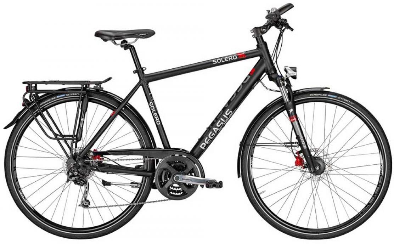 Велосипед городской Pegasus Solero SL Disc Gent 2015, цвет: черный, рама 19, колесо 28252435