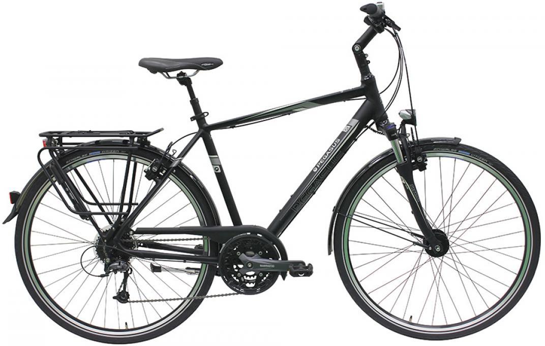 Велосипед городской Pegasus Premio SL M Gent 27 2016, цвет: черный, рама 21, колесо 28259092