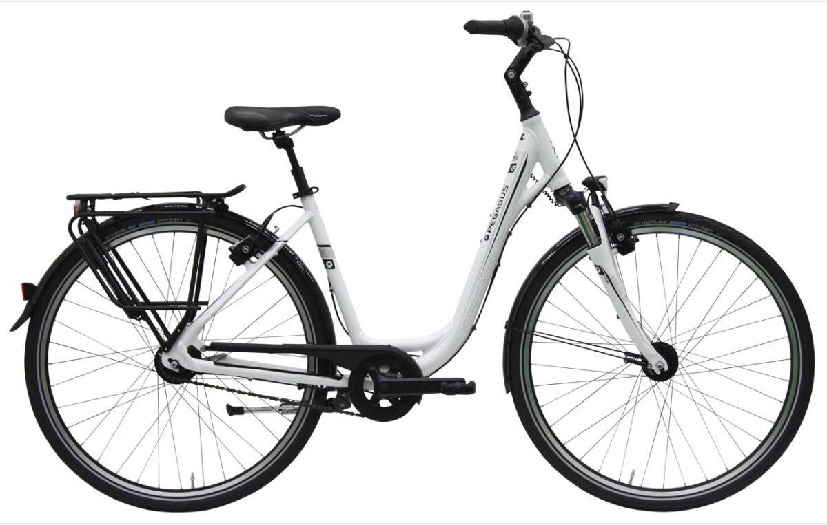 Велосипед женский Pegasus Premio SL M Wave 8 2016, цвет: черный, рама 18, колесо 28259117