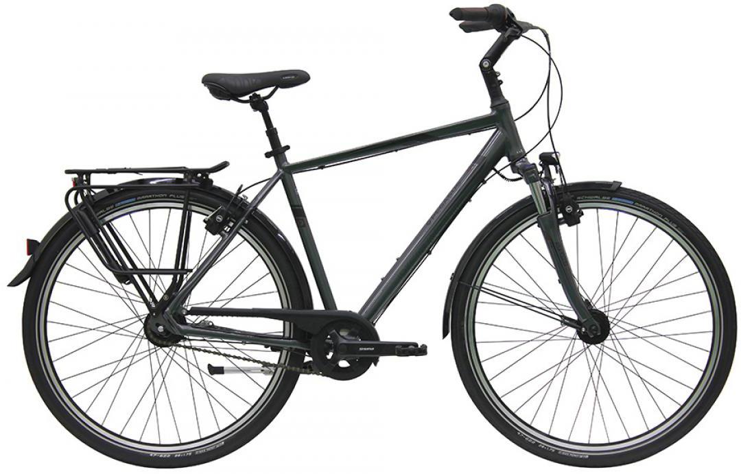 Велосипед городской Pegasus Premio SL M Plus Gent 8 2016, цвет: серый, рама 21, колесо 28259157