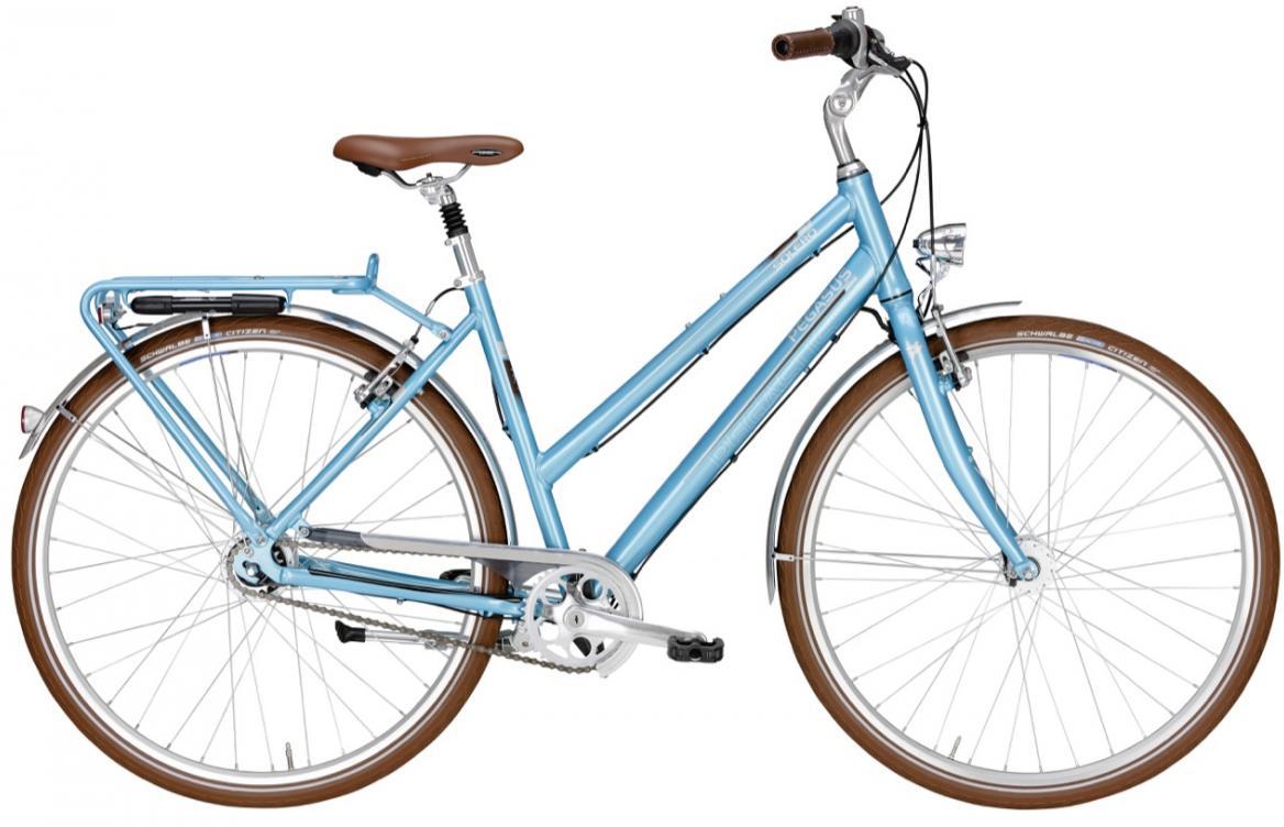 Велосипед женский Pegasus Solero Classico Trapes 8 F 2016, цвет: красный, рама 17,5, колесо 28259342