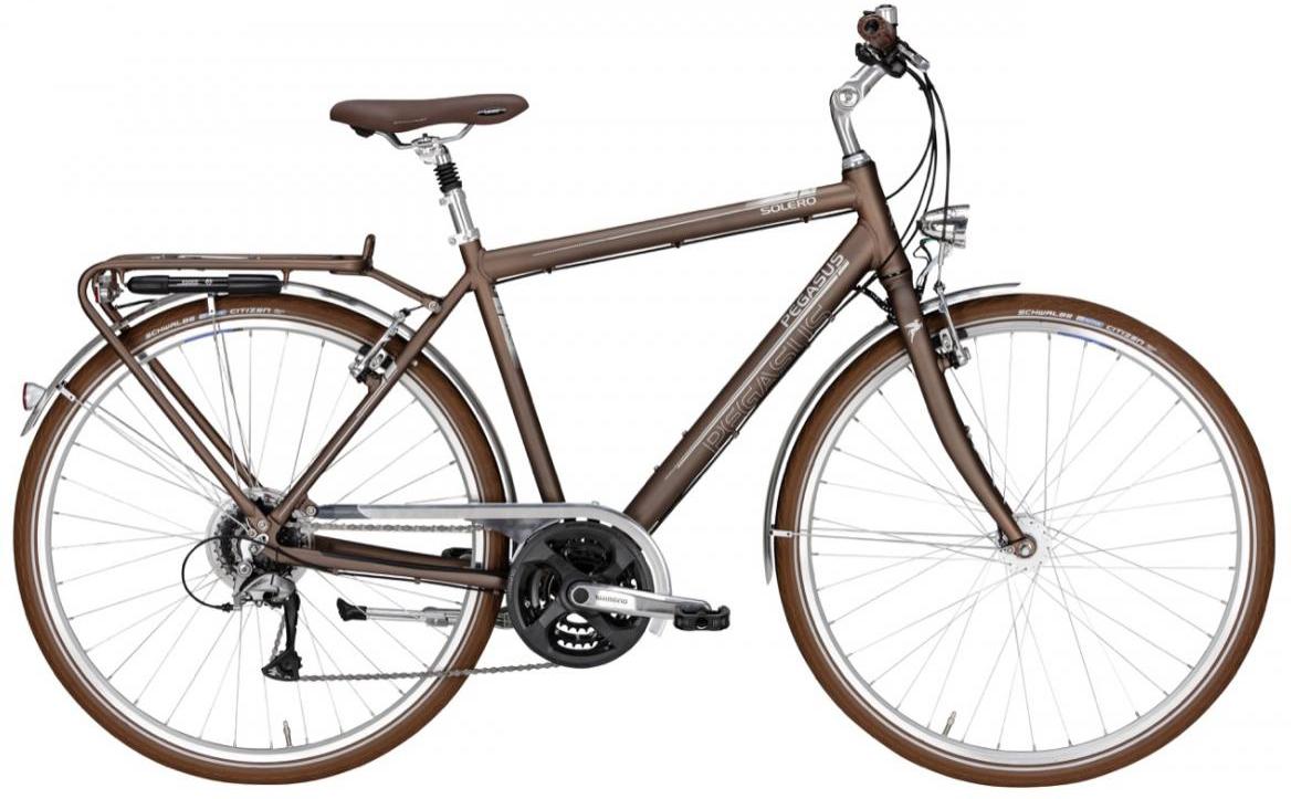Велосипед городской Pegasus Solero Classico Gent 24 2016, цвет: синий, рама 24, колесо 28259362