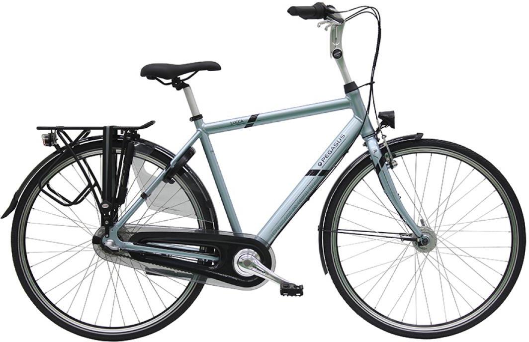 Велосипед городской Pegasus Lucca 3 NL Gent 2016, цвет: серый, рама 23, колесо 28259493