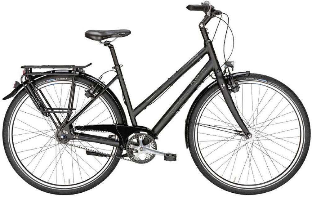 Велосипед женский Pegasus Urbano SL Trapez 8 Belt 2016, цвет: черный, рама 19,5, колесо 28259575