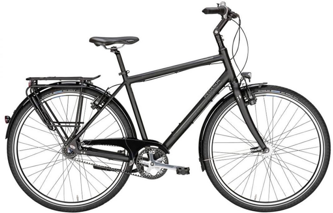 Велосипед городской Pegasus Urbano SL Gent 8 Belt 2016, цвет: черный, рама 24, колесо 28259584