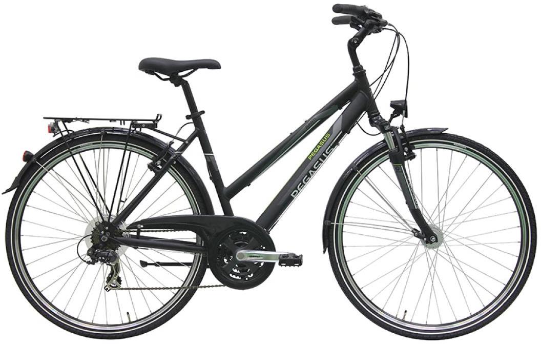 Велосипед женский Pegasus Avanti Trapez 21 2016, цвет: черный, рама 19,5, колесо 28259591