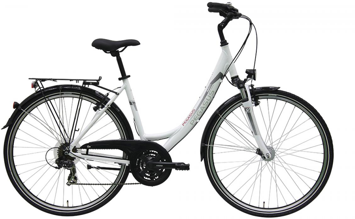 Велосипед женский Pegasus Avanti Wave 21 2016, цвет: белый, рама 19,5, колесо 28259612