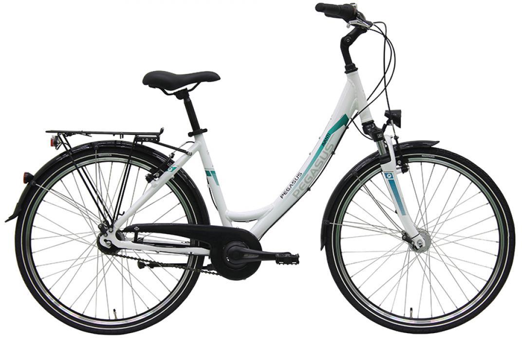 Велосипед женский Pegasus Avanti Wave 7 2016, цвет: белый, рама 17,5, колесо 26259677