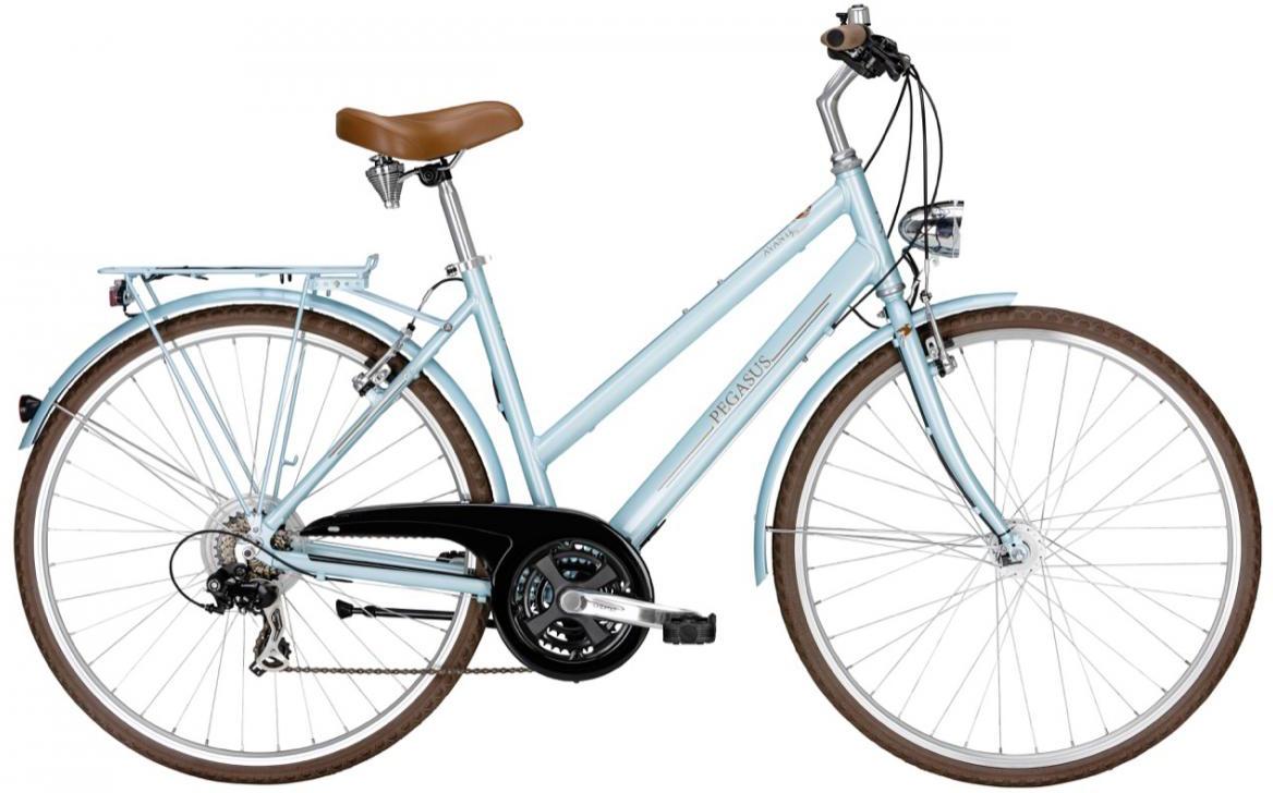 Велосипед женский Pegasus Avanti Classico Trapez 21 2016, цвет: красный, рама 18, колесо 28259683