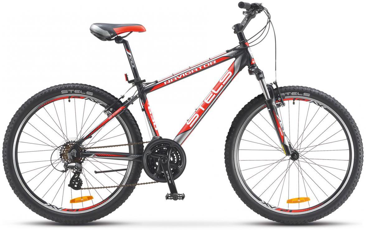 Велосипед горный Stels Navigator 630 V 2016, цвет: красный, рама 19,5, колесо 26261957
