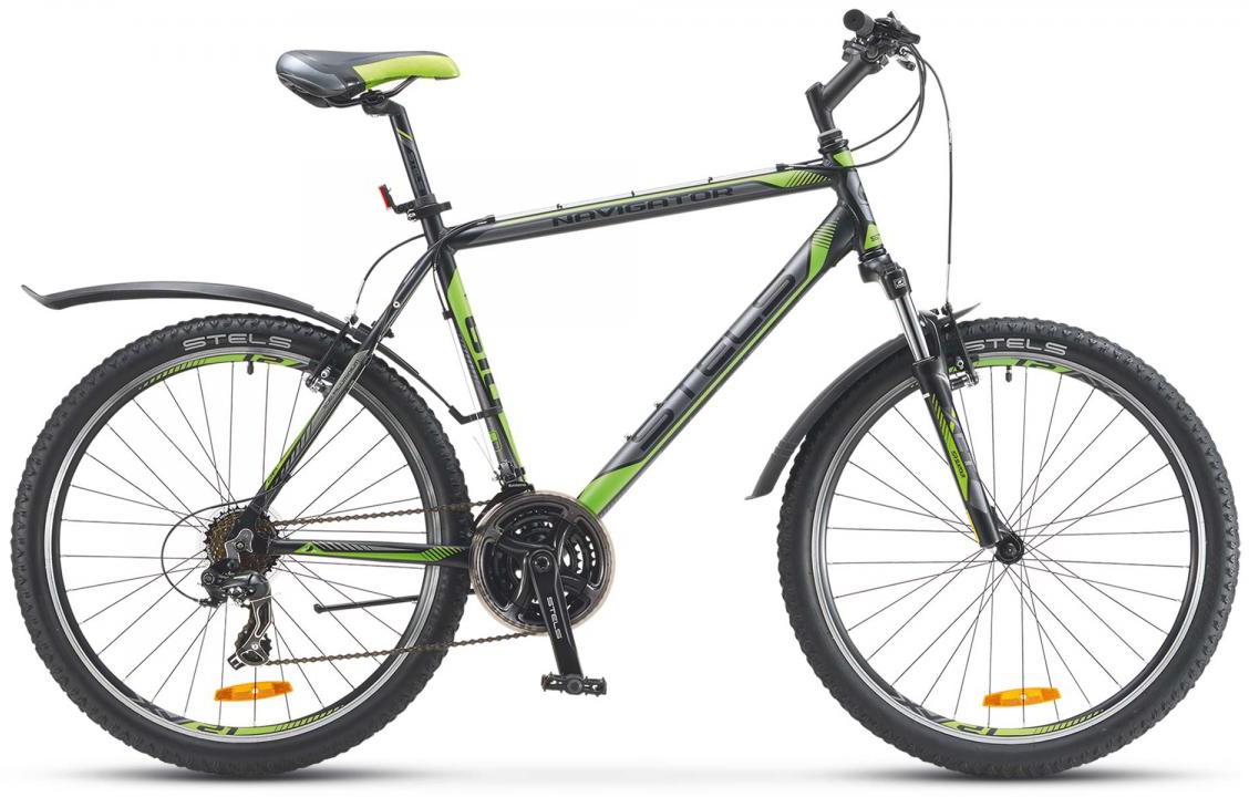 Велосипед горный Stels Navigator 610 V 2016, цвет: серый, рама 15,5, колесо 26261963