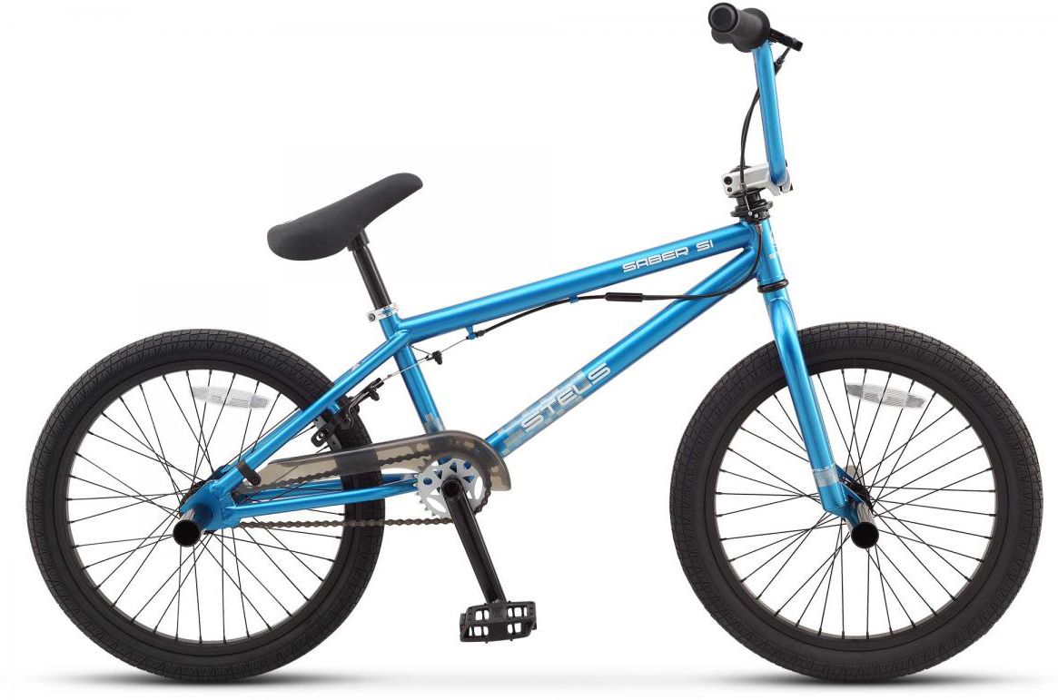 Велосипед ВМХ Stels Saber S1 2016, цвет: голубой, колесо 20262020
