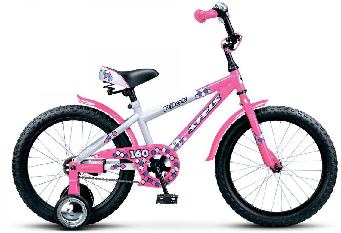 Велосипед детский Stels Pilot 160 2016, цвет: розовый, колесо 18262288