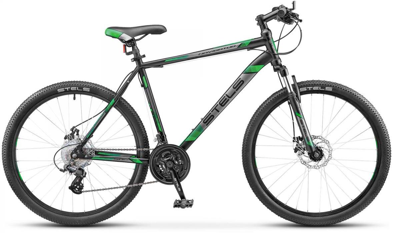 Велосипед горный Stels Navigator-500 MD V020 2017, цвет: черный, рама 16, колесо 26268450