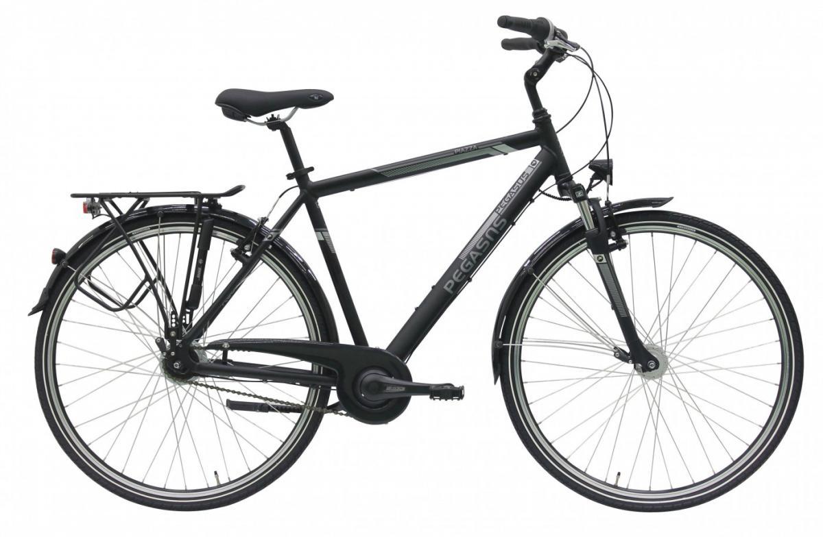 Велосипед городской Pegasus Piazza Gent 7 2017, цвет: черный, рама 24, колесо 28270086