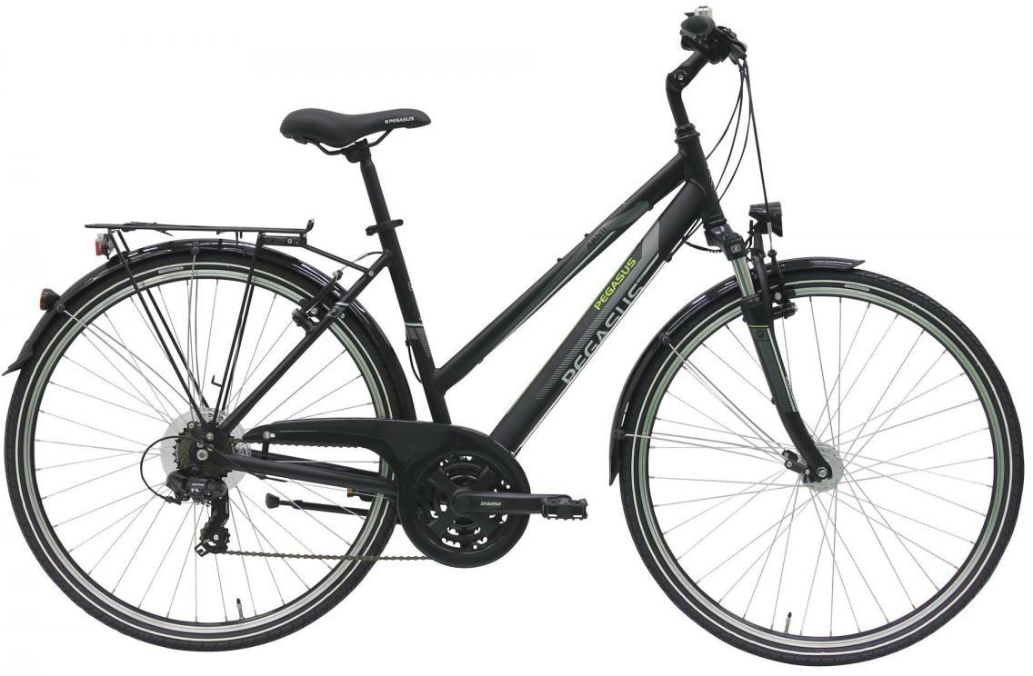 Велосипед городской Pegasus Avanti Trapez 21 2017, цвет: черный, рама 19,5, колесо 28270877