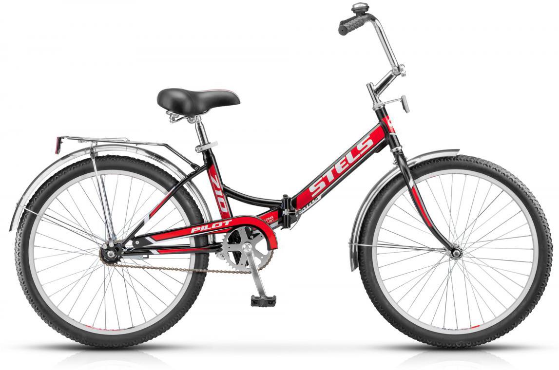 Велосипед детский Stels Pilot-710 Z010 2017, цвет: красный, рама 16, колесо 24.278538278538
