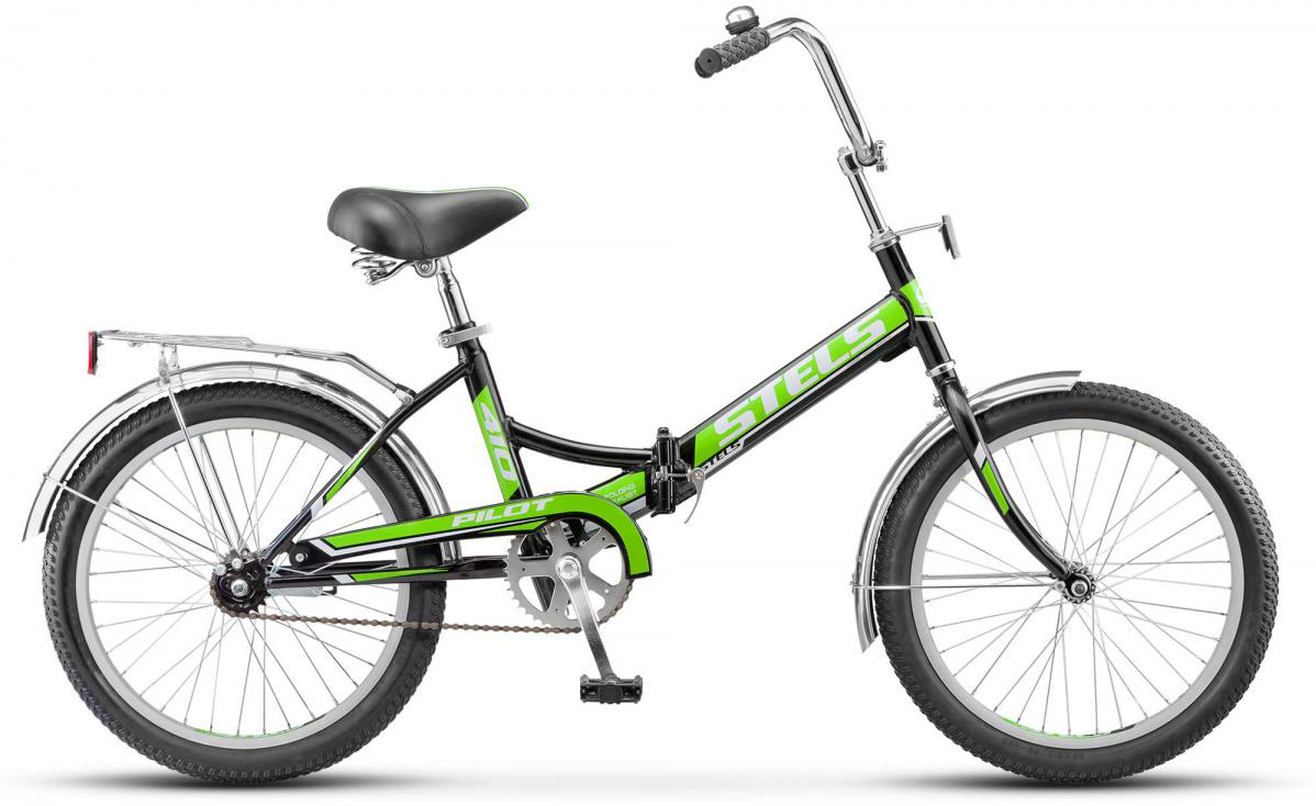 Велосипед детский Stels Pilot-410 Z010 2017, цвет: красный, рама 13,5, колесо 20. 278549278549