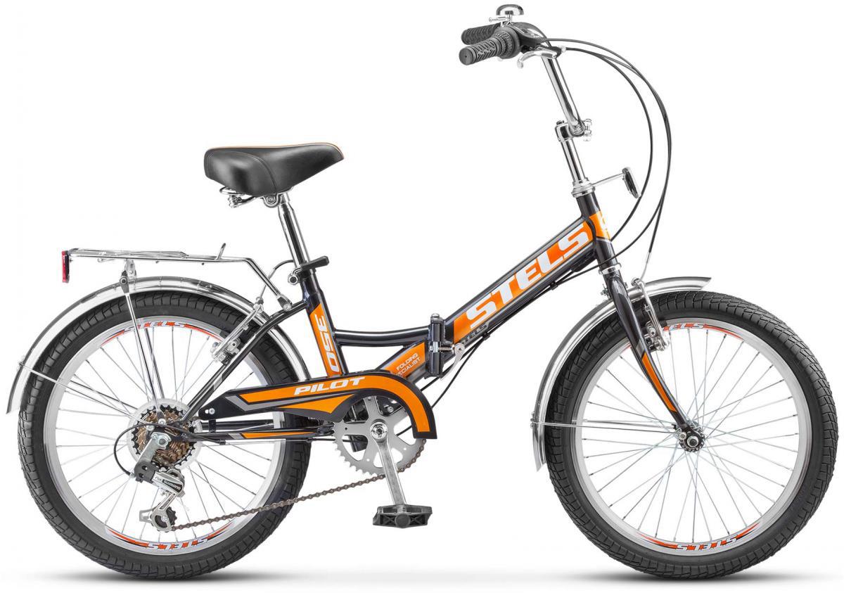 Велосипед детский Stels Pilot-350 Z010 2017, цвет: фиолетовый, рама 13, колесо 20278551