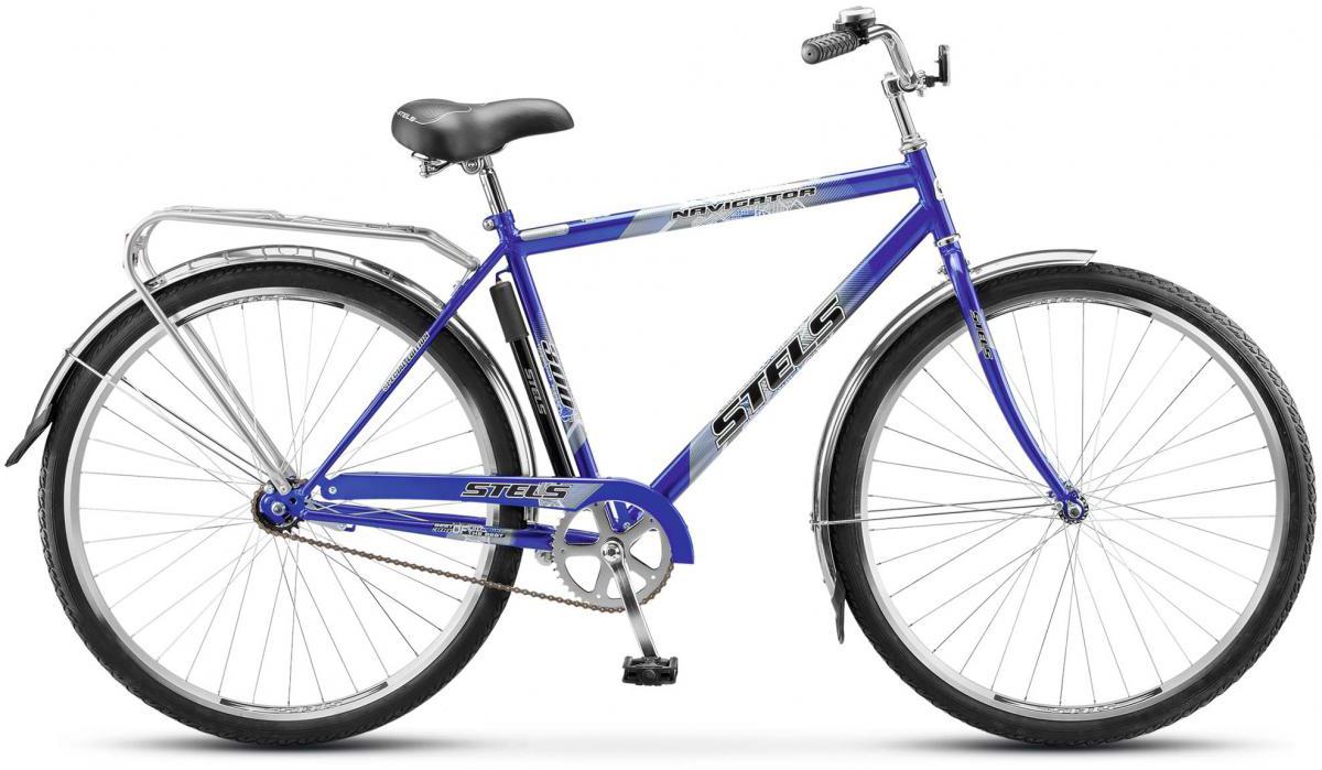 Велосипед городской Stels Navigator-300 Gent Z010 2017, цвет: черный, рама 20, колесо 28278567