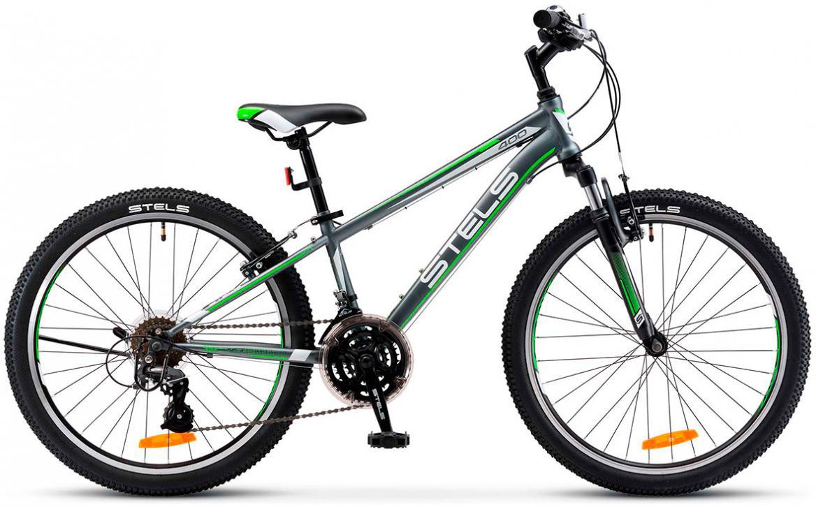 Велосипед детский Stels Navigator-400 V V030 2017, цвет: серый, рама 14, колесо 24284237
