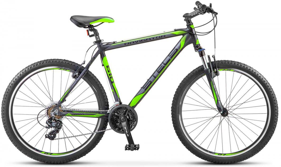 Велосипед горный Stels Navigator-610 V V030 2017, цвет: черный, рама 20, колесо 26284254
