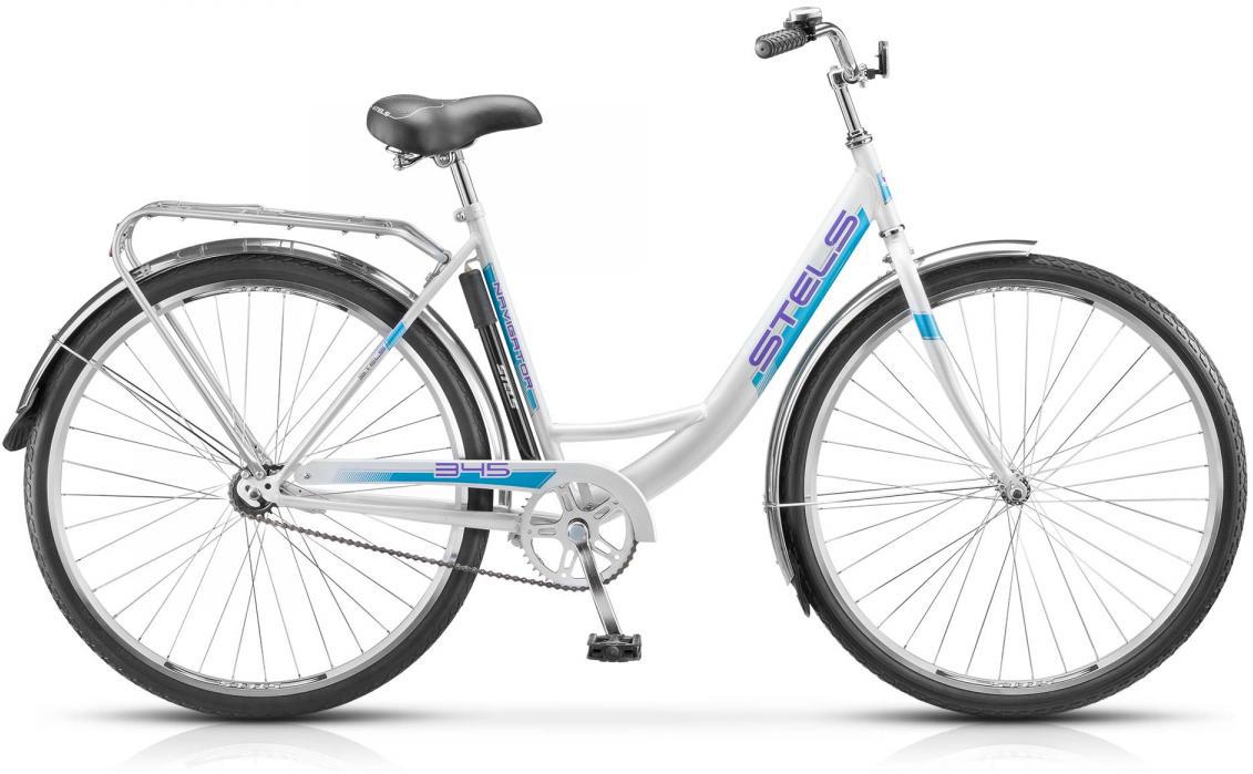 Велосипед городской Stels Navigator-345 Z010 2017, цвет: зеленый, рама 20, колесо 28. 284553284553