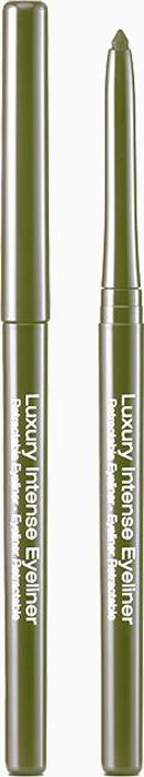 Kiss New York Professional Автоматический контурный карандаш для глаз Luxury intense, Khaki, 0,31 гKLEL06Автоматический карандаш для глаз с интенсивным суперустойчивым цветом. Основа формулы карандаша-пчелиный и микрокристаллический воски-обеспечивает мягкость и пластичность текстуры с идеальной устойчивостью. Цвет ложится анатомично структуре кжи-равномерно и гладко. Продукт можно наносить на слизистую века. Внутренняя подводка устойчива к обновлению слизистой в течение длительного времени. Мягкая формула не требует заточки грифеля. Высокая плотность покрытия, устойчивый эффект.