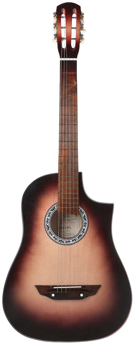 Аккорд Classic 1, Brown акустическая гитара - Гитары