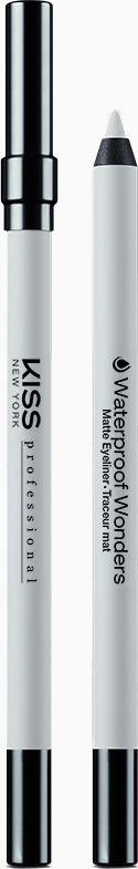 Kiss New York Professional Водостойкий контурный карандаш для глаз Waterproof Wanders, Classic White, 1,2 гKWW05Классический карандаш для глаз в деревянном корпусе. Интенсивный цвет. Матовый эффект. Основа формулы-воск растительного происхождения(пчелиный и воск рисовых отрубей),синтетический воск,силиконы,касторовое масло. Мягкое нанесение цвета обеспечивает касторовое масло и воск рисовых отрубей. Алюминиевая пудра сохраняет формулу грифеля карандаша на долгое время. Высокая плотность покрытия,водостойкий эффект жидкой подводки. Для снятия макияжа потребуется специальное средство на масляной основе.