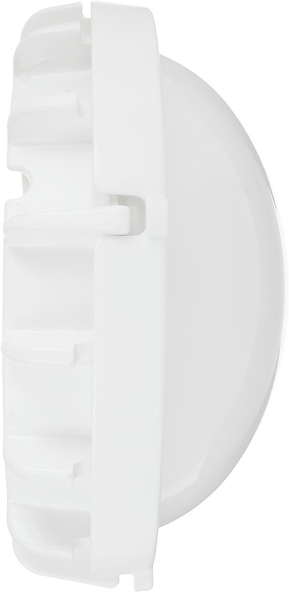 Потолочный светильник Navigator NBL-R1-12-4K-WH-IP65  предназначен для общего освещения: промышленных и  сельскохозяйственных объектов, теплиц, складов, гаражей,  подвалов, автопарковок, тоннелей, автомоек, кухонных,  душевых и прочих помещений с повышенным содержанием  пыли и влаги. В комплекте: светильник, установочный комплект,  инструкция по эксплуатации. Рассеиватель: матовый. Мощность: 12 Вт. Световой поток: 960 лм. Цветовая температура: 4000 К. Степень защиты: IP65. Напряжение: 150-250 В. Частота: 50/60 Гц. Сила тока: 0,058 А. Температура эксплуатации: -40°С до +40°С. Технические особенности: - Пылевлагозащищенный. - Корпус из ударопрочного АБС-пластика. - Рассеиватель из поликарбоната. - Долговечный силиконовый уплотнитель. - Драйвер с высоким КПД. - Набор для монтажа в комплекте. - Крепежные винты из нержавеющей стали.  Размер: 17,1 х 7,7 см.