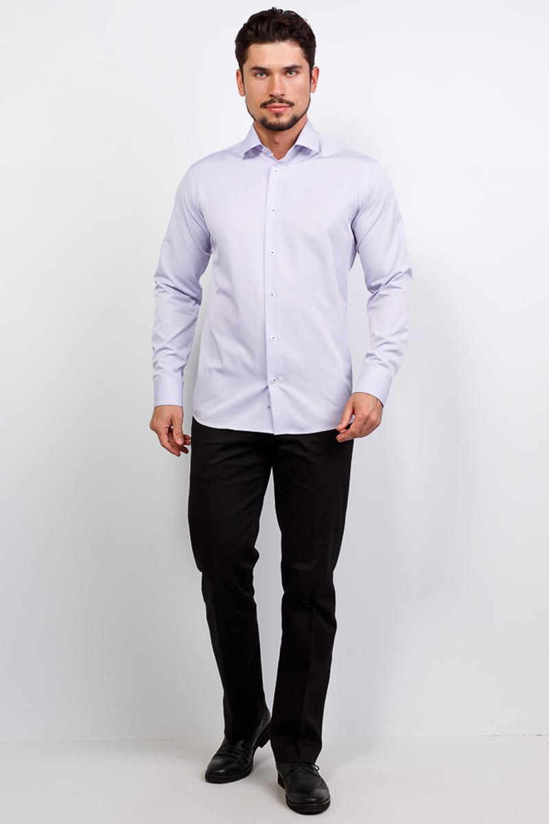 Рубашка мужская Casino, цвет: сиреневый. c171/15/117/1. Размер 46 (60-174/184) ночные сорочки и рубашки