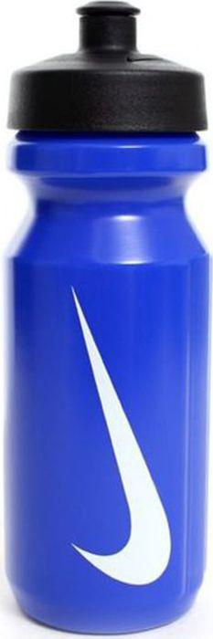 Бутылка для воды Nike Big Mouth, цвет: синий, белый, 650 млN.OB.17.434.OSБутылка NIKE. Широкое отверстие позволяет удобно наливать жидкости и добавлять лед в бутылку. Оснащена просто открывающимся защитным колпачком. Широкая рельефная поверхность позволяет с лёгкостью потянуть за него и открыть бутылку. Нижняя часть конической формы позволяет легко помещать и вытаскивать бутылку из велосипедной сетки. Объем 650 мл.