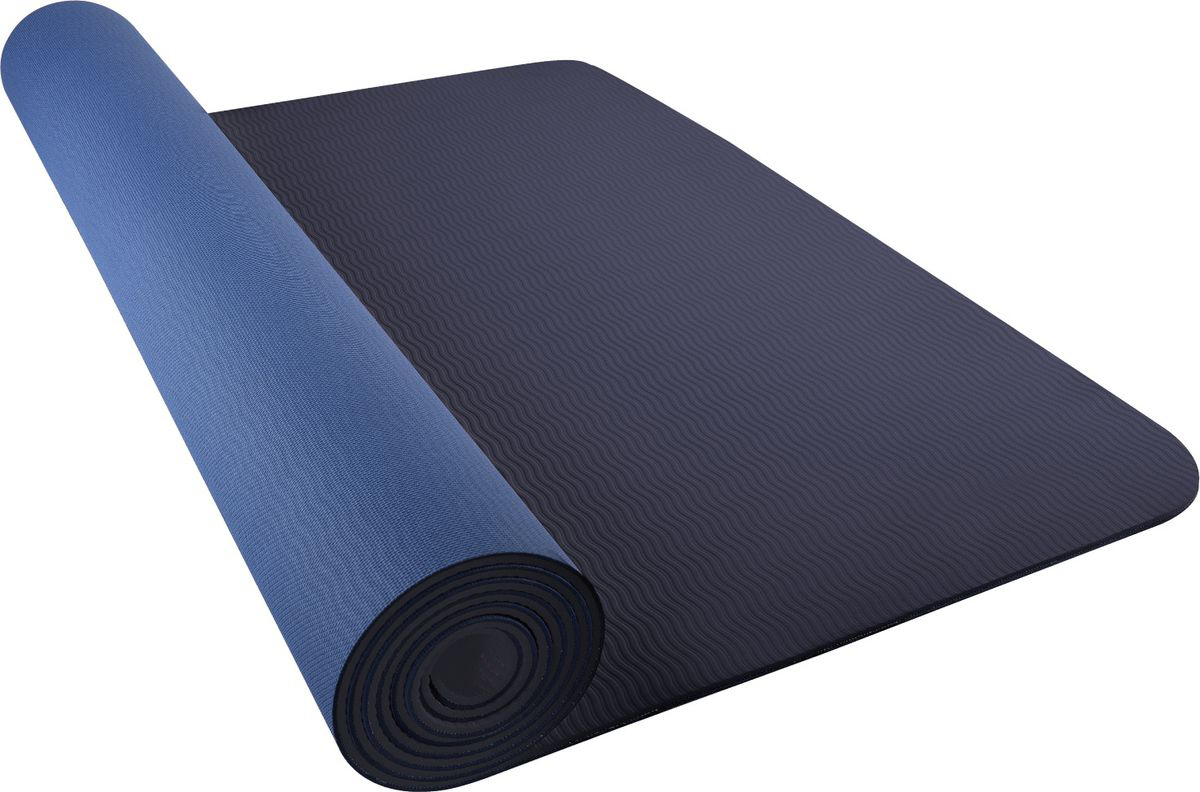 Мат для йоги Nike Just Do It Yoga Mat 2.0, цвет: синий, 61 х 173 см