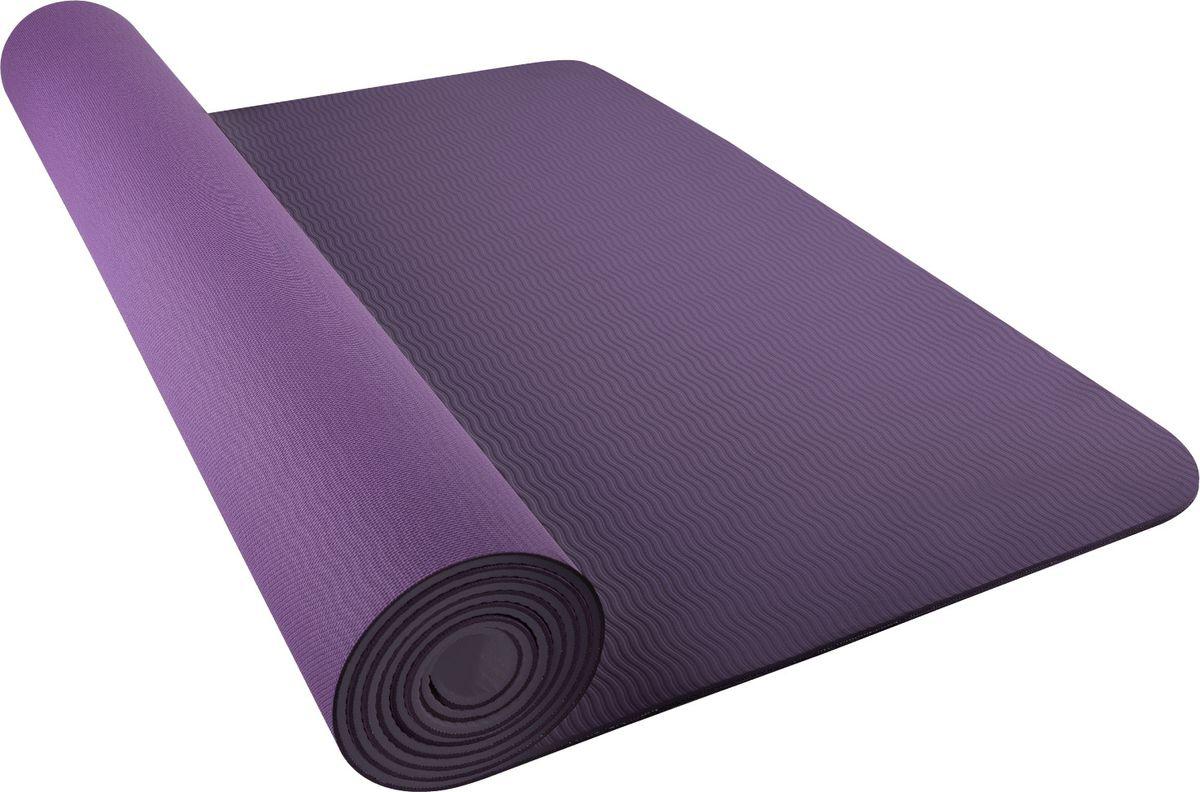 Мат для йоги Nike Just Do It Yoga Mat 2.0, цвет: фиолетовыйN.YE.23.514.OSМат для йоги Nike. Размер мата 61см х 173см. Толщина 3мм. Нескользящая поверхность позволит выполнить любые упражнения на полу. Шнурок для удобной переноски.