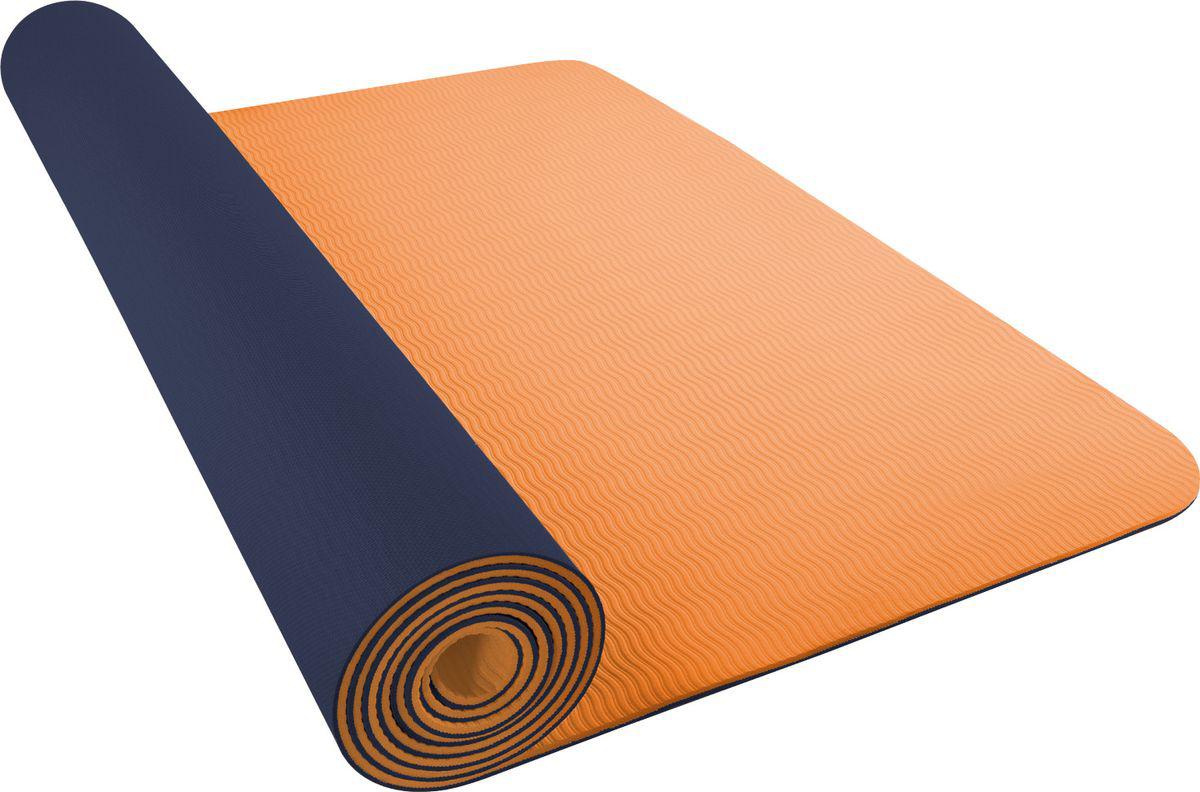 Мат для йоги Nike Yoga Mat 5 мм, цвет: синийN.YE.31.458.OSКоврик для йоги Nike- это современный, удобный и компактный аксессуар для занятий фитнесом и йогой в группах или домашних условиях. Нескользящая поверхность обеспечивает комфорт при выполнении упражнений. В процессе занятий коврик не растягивается и не теряет формы. Мягкая, бархатистая на ощупь поверхность коврика создает ощущение дополнительного комфорта и предотвращает скольжение рук и ног во время занятий. Прочный и упругий материал не растягивается, легко моется. Коврик компактный, хранится в свернутом виде. Шнурок для переноски обеспечивает комфортную транспортировку.