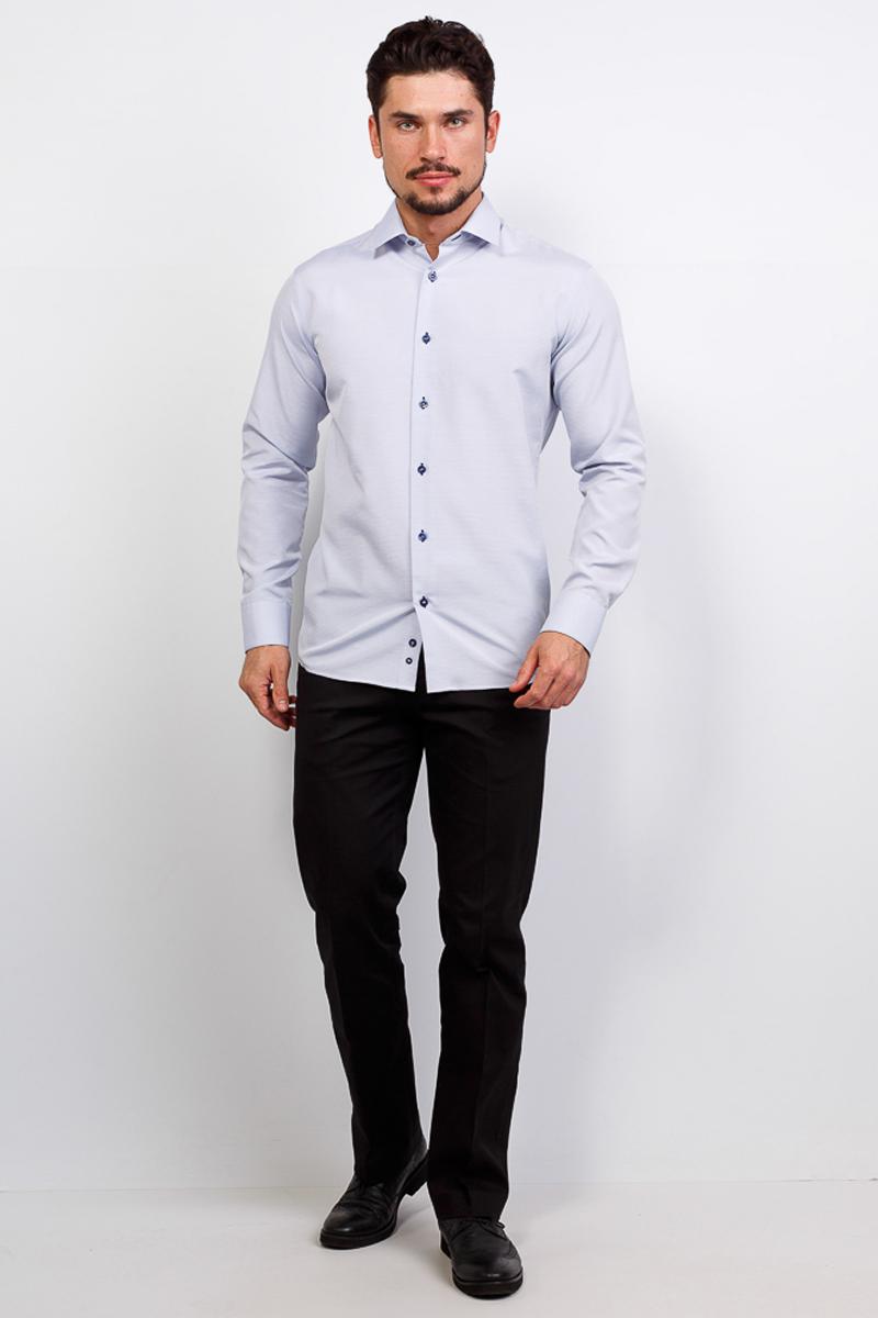 Рубашка мужская Casino, цвет: белый. c223/15/607/1. Размер 45 (58-174/184) ночные сорочки и рубашки
