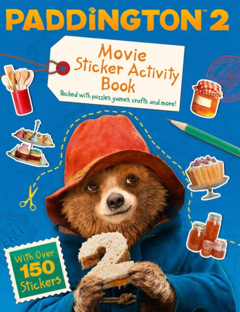 Paddington 2: Movie Sticker Activity Book paddington bear page 6