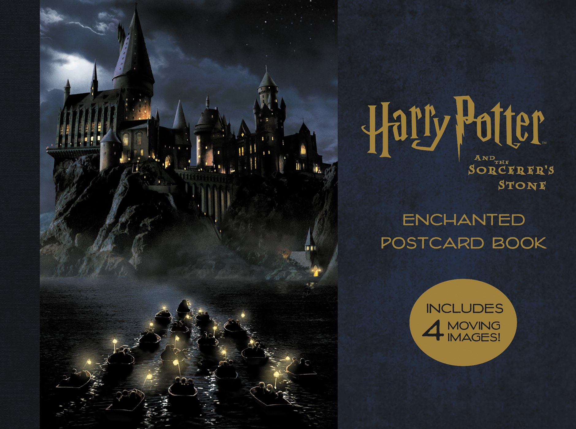Harry Potter and the Sorcerer's Stone: Enchanted Postcard Book