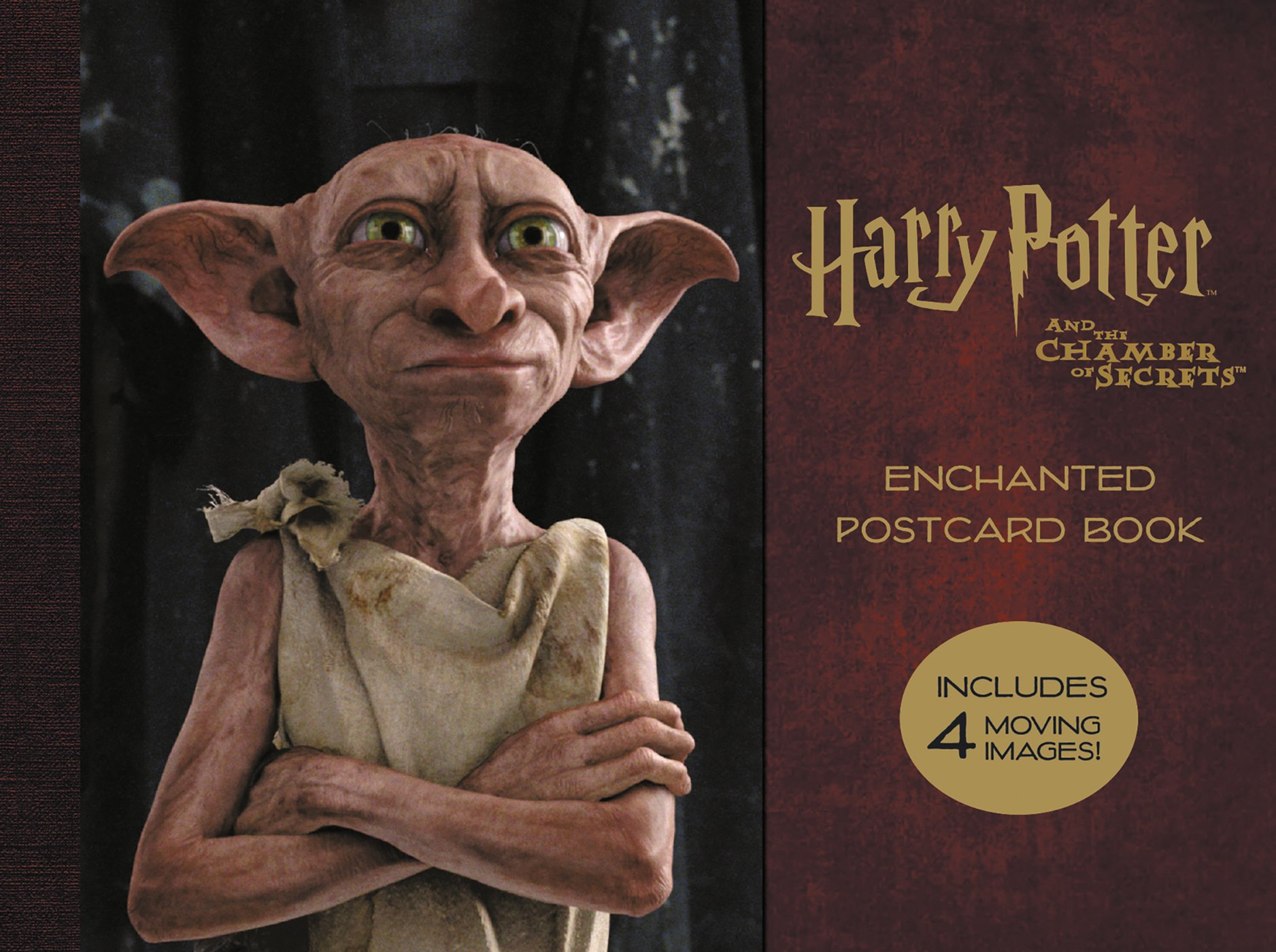 Harry Potter and the Chamber of Secrets Enchanted Postcard Book enchanted forest 20 postcards