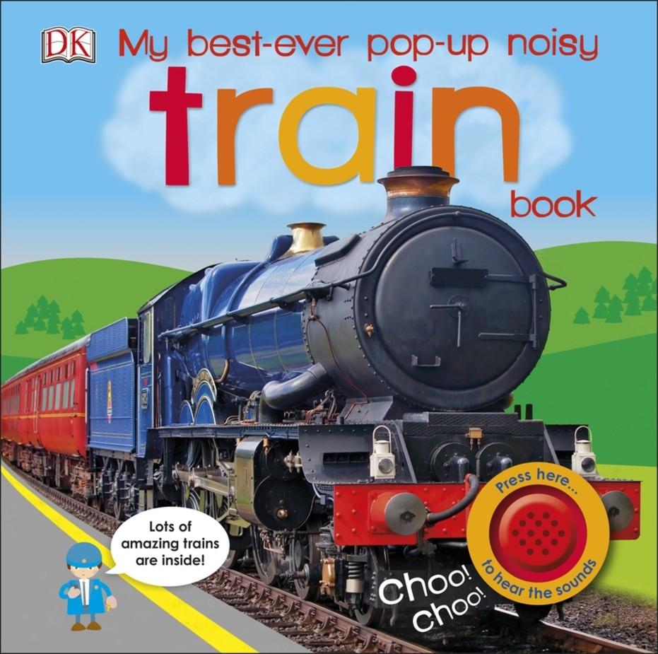 My Best-Ever Pop-Up Noisy Train Book music card spiral pop up musical notes 3d card music instruments pop up card bday pop up card